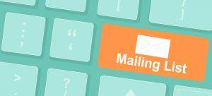 Setting Up Your Email Subscriber List