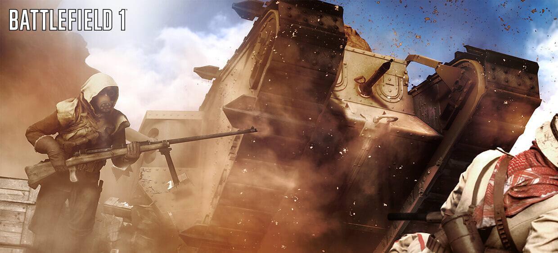Battlefield1 - Tanks OverPowered