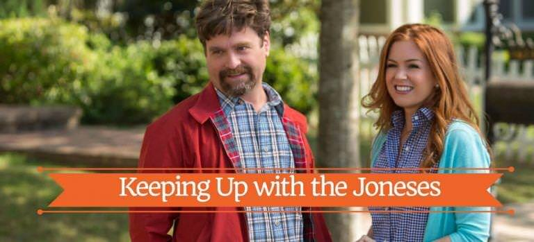 Keeping Up With the Joneses Movie Review