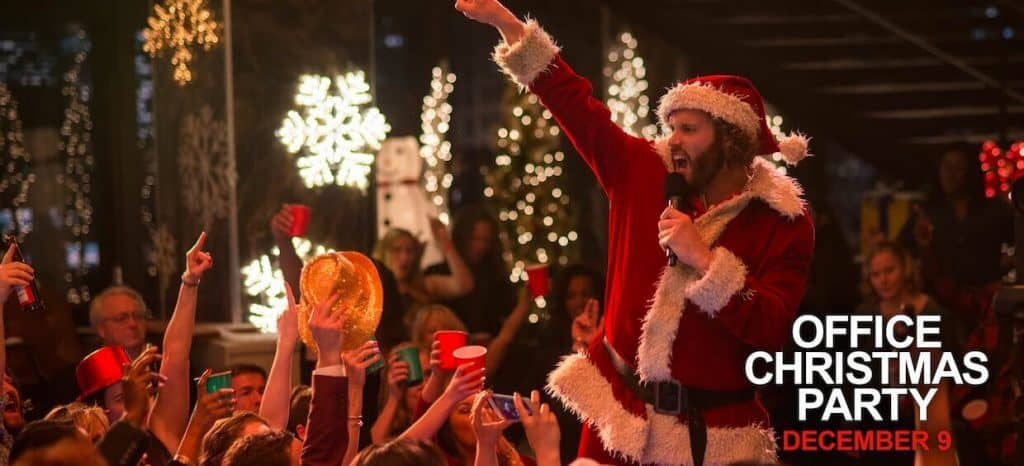 Office Christmas Party 2016 movie review